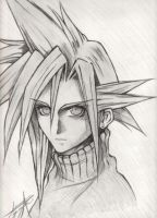 Line - Cloud Strife by sunfairyx