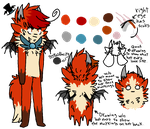 Finally got a ref done of this loser by Kat-Quills