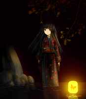 Jigoku Shoujo: Anticipation by hana-tox
