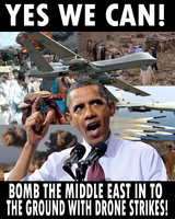 Obama's drone war by Party9999999