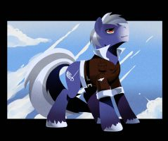 Contest Prize: Hawk-Pony by kilala97