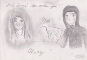 Alway - Old Sketch by KiraRavenLupin