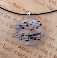Music Passion Fused Glass by FusedElegance