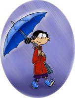 Raindrops Keep Falling on my Ed by SilverLulaby