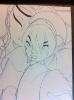 Mobile Upload: Toph and Kyoshi 2008 by AndrewKyleSmith