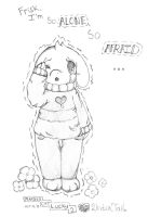 Asriel Dreemurr .:Cry(goat)Baby:. -Spoilers- Ink - by Ambercatlucky2