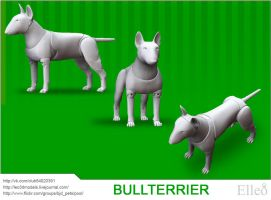 Bullterrier by leo3dmodels