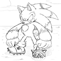 Werehog by Mitzy-Chan