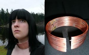 Copper Necklace by Snozzberry4947