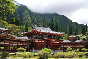 Byodo-In Temple Oahu Hawaii by CitizenFresh