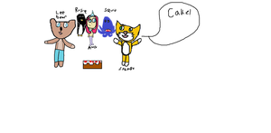 Stampy and the gang by hannadawn