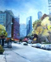 NY in spring by Buble
