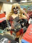 2013 C4 Comic Con Horror Harley Quinn by VisualEyeCandy