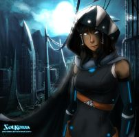 Korra of The Future by SolKorra