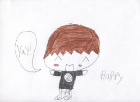 The emotions of Chibi me:happy by Nitrox8