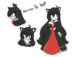Maicroza The Wolf by 1412Shadow