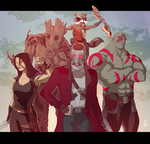 Guardians of the Galaxy by deu-O
