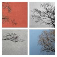 Still Lovely Tristesse Collage by Einsilbig