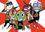 keroro forces by DOR20