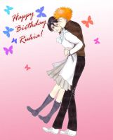 Happy Birthday Rukia by haya5h1