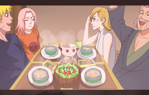 Family Dinner by LaJuicyfleurs