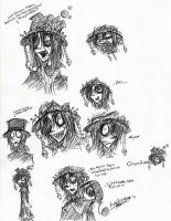Character doodle: Grave Robber by RingoNakishima