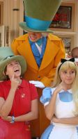 The Hatters and Alice think by dreamer20k