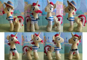 singing flim flam plushies by Plushypuppystudio