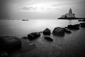 In Black and White by Eibo-Jeddah