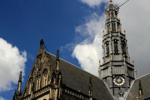 View 2 of old city center of Haarlem by pagan-live-style