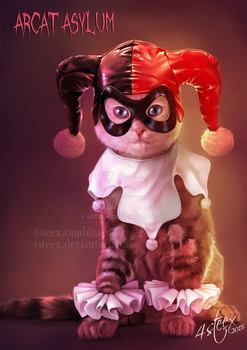 Harley Kitty by 4steex