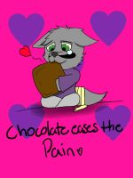 Chocolate Pain by walter-the-furry