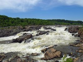 Great Falls of the Potomac 41 by Dracoart-Stock