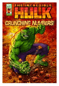 Hulk--Crunching Numbers by ChristineAltese