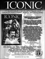 CAG iconic page ad design bw by westwolf270