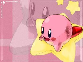 Wallpaper Kirby by ANGElsilvestre