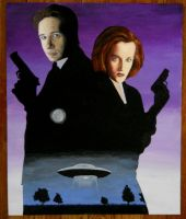 X-Files 1 by Bart Schechinger by bartelnathaniel