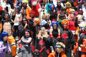 Naruto Gathering: EVERYONE, part 7 by miss-a-r-t