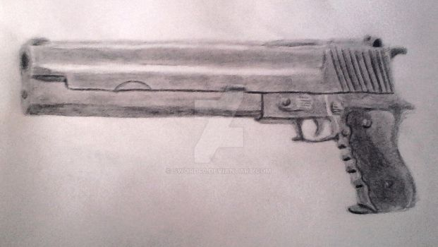 One of the dual guns of Jacob : the P36 : Predator by sword40