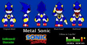 GA2 Original Metal Sonic pack DOWNLOAD by DinyDino9