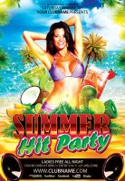 Summer-Hit-Party-flyer by Styleflyers