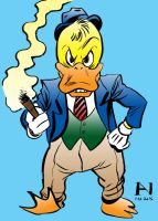 Howard the Duck by IanJMiller