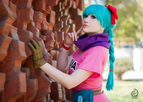 Bulma by Paz-Cosplay