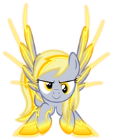 Supercharged Derpy by Zacatron94