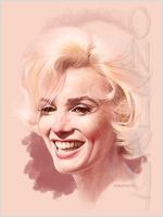 Marilyn Quick Study 2 by LorenzoDiMauro