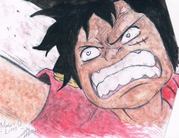 Monkey D. Luffy~One Piece~ by samui153
