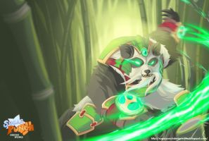 League of Legends - Panda Volibear by a-bad-idea