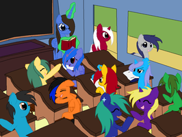 First Day of School by charityanna