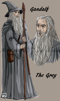 The White Council : Gandalf The Grey by MellorianJ