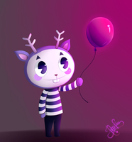 [HTF] Mime's balloon. by Jaha-Fubu